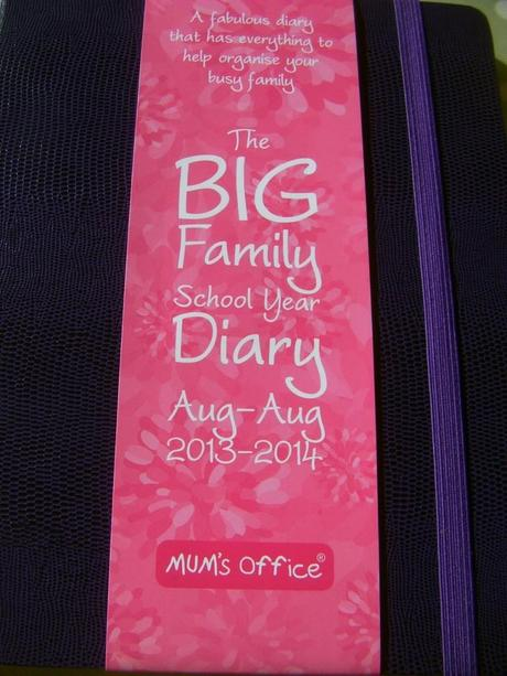Mum's Office The Big Family School Year Diary