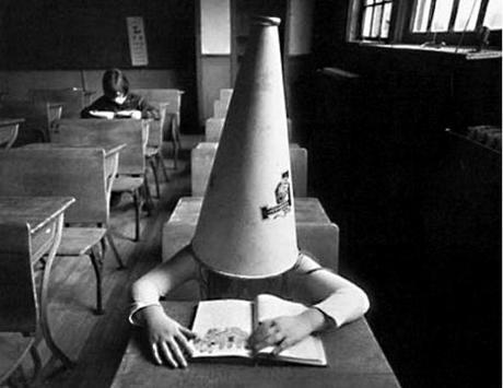 dunce-cap