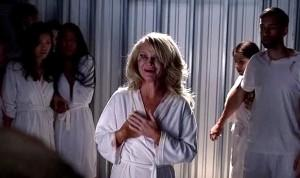 Ginger (Tara Buck) gets saved in HBO's True Blood Season 6, Episode 9, entitled 'Life Matters'
