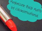"Maybelline Bold Matte Lipstick Review ""MAT"