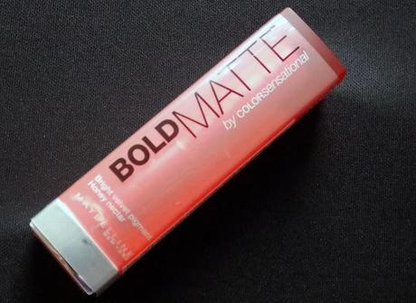 Maybelline Bold Matte Lipstick Review
