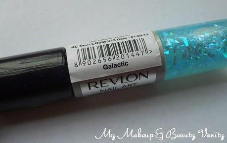 Revlon Nail Art Moon Candy Galactic+nail polish+revlon+nail+blue flakes