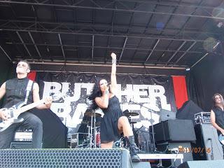 A Ripple Conversation with Butcher Babies - Mayhem Fest, Mansfield, Mass. July 16th,2013