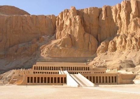 Temple of Hatshepsut.