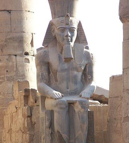 Statue of Ramses II.