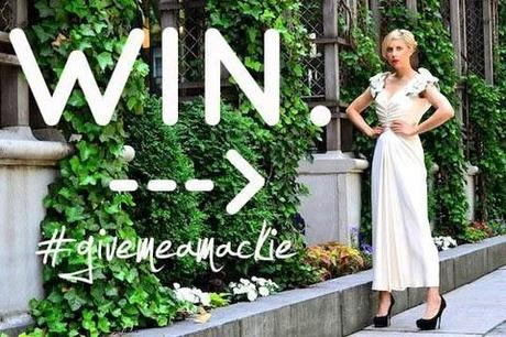 Instagram to Win a Vintage Bob Mackie Dress