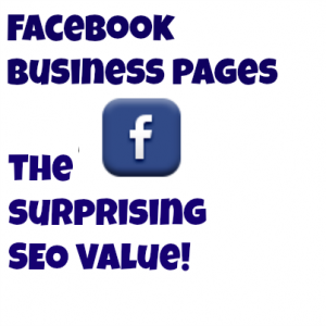 facebook business page seo value