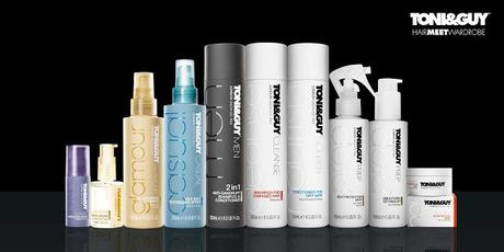 Britain's Most Celebrated Hair Styling Brand  TONI&GUY; HairMeetWardrobe - Now in India