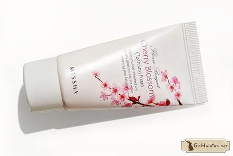 Missha Flower Bouquet Cherry Blossom Fresh Cleansing Foam Review