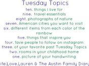 Tuesday Topics: Eight Photos Nature