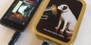 Tinamp - Vintage Cigarette Tin Speaker