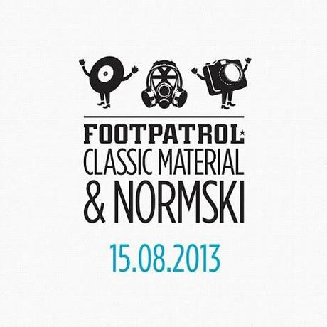 Footpatrol x Classic Material x Normski Capsule Collection