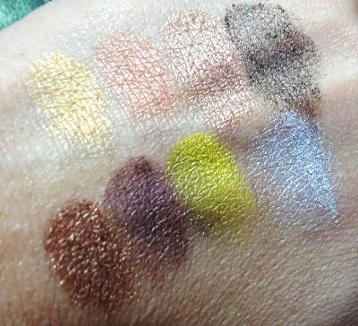 BH Cosmetics Party Girl Eye Shadow Palette Swatches
