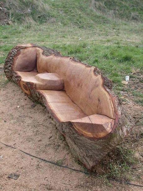 Redneck sofa