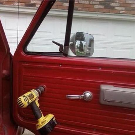 Redneck power windows      (if it works - why not?)