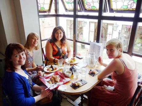 baking and lifestyle blogger meet up at mrs bridges leicester