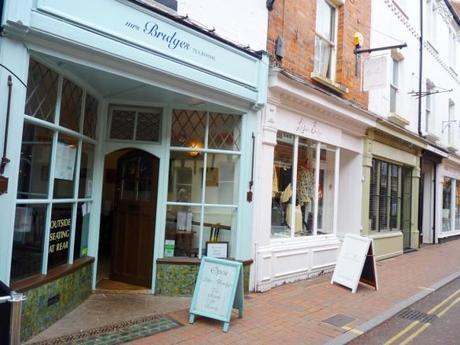 mrs bridges leicester tea rooms review outside view loseby lane city centre