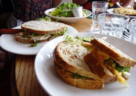deli sandwiches at mrs bridges tea rooms leicester review