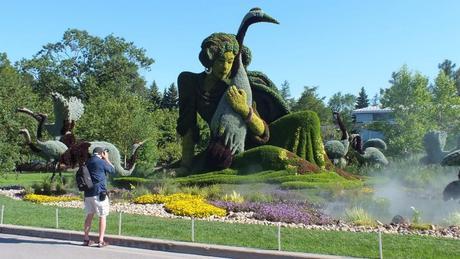 A True Story - Mosaiculture - Montreal Botancial Gardens