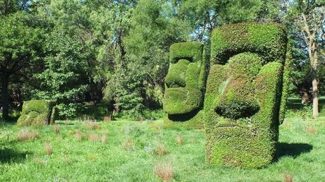 Guardians of the Island - Mosaiculture - Montreal Botancial Gardens