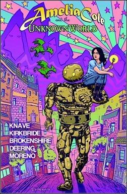 Amelia Cole and the Unknown World TPB Cover