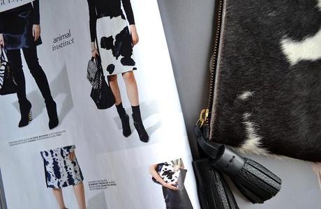 Givenchy's Pre-Fall 2013 | Monochrome Cow Print