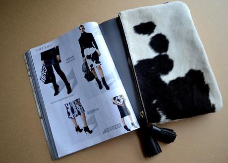 Givenchy's Pre-Fall 2013 | Monochrome Cow Print