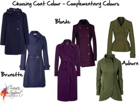 Choosing coat colours complementary