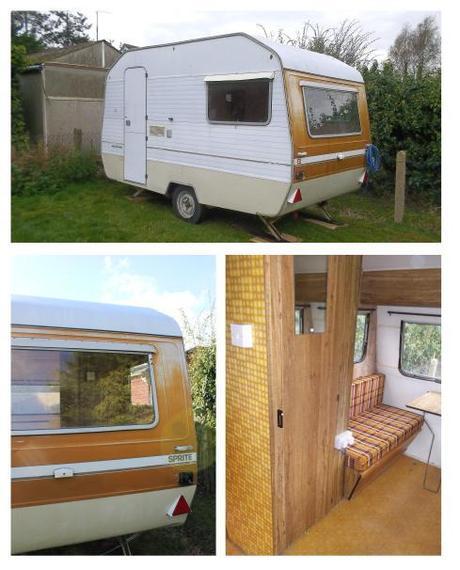 cassiefairys vintage caravan project original photos of sprite