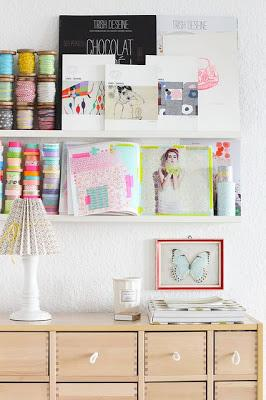 My Current Obsession: Shelf Styling
