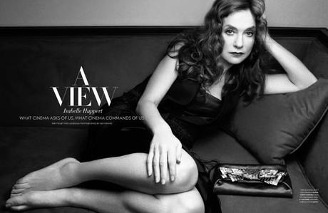 Isabelle Huppert, photographed by Viki Forshee for Flaunt, 2013_4