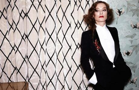 Isabelle Huppert, photographed by Viki Forshee for Flaunt, 2013.