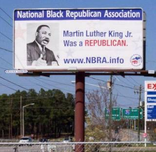 MLK is a Republican