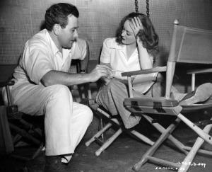 Bette Davis On Set