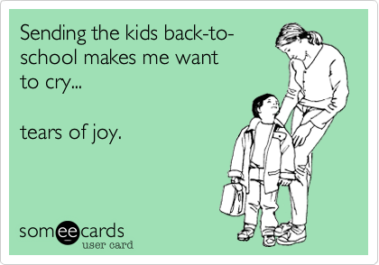 Wisecracking Wednesday: Back to School
