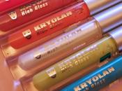 Kryolan High Glosses Swatches Review