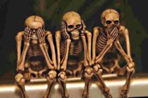 See no Evil; Hear no Evil; SPEAK no Evil!