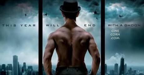 aamir khan dhoom 3 1st look pics posters images gallery pics videos digital motion stills trailer Aamir Khans Dhoom 3 Stunning Poster