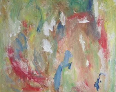How I painted my first abstract