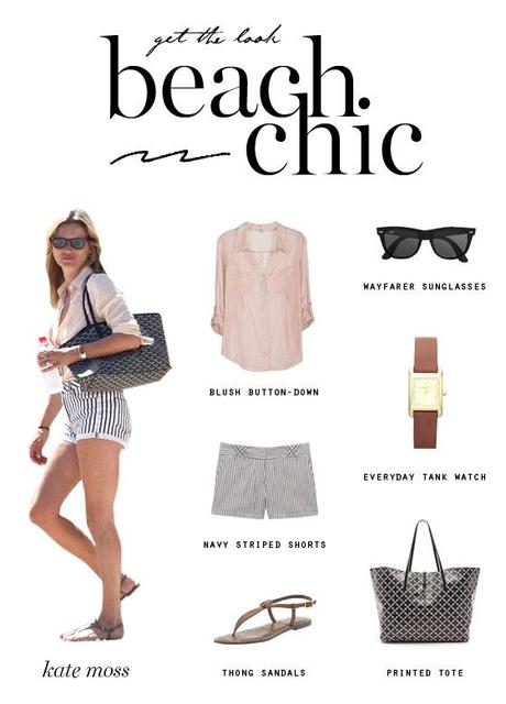 GET THE LOOK Beach Chic (with Basics)
