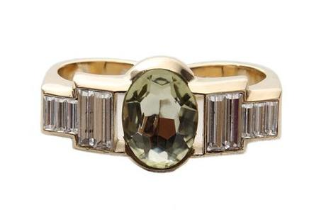 nina ricci two finger ring