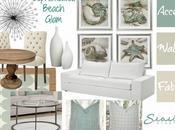 Beach Condo Renovations Design Board