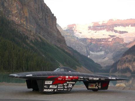 The world record breaker Midnight Sun VII. (Credit: Midnight Sun Solar Rayce Car Team)
