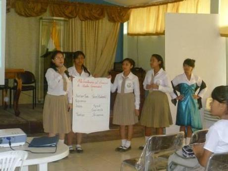participants conduct a replica workshop.