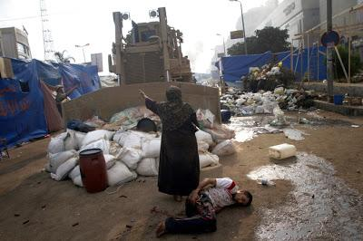 Egypt is in violence and upset now, but the future holds blessing for His people Egypt!