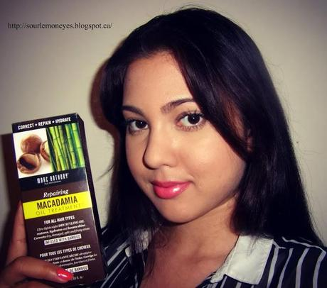 Review: Marc Anthony Repairing Macadamia Oil Treatment