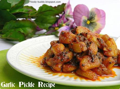 Garlic Pickle Recipe / Poondu Oorugai / How to make Garlic Pickle