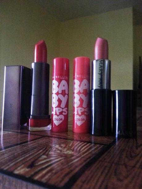 Lip favorites for the month of August