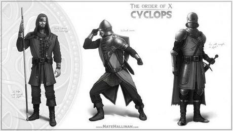 These Concept Illustrations of Medieval X-Men Looks Awesome