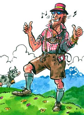 Alpine dress: The Lederhosen boom